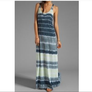 Velvet X Lily Aldridge Laura Tie Dye Maxi Dress
